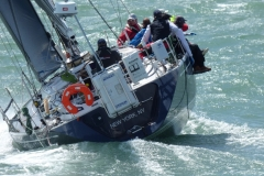 Fastnet Start With The Triple Lindy Crew