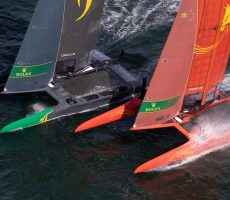 Close Leeward mark racing