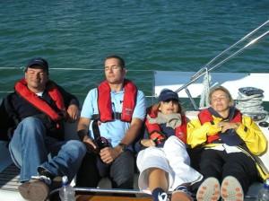 Jeanneau 54 company regatta day