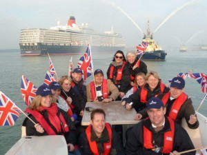 Queen Elizebeth Cruise ships maiden voyage with Sovereign Cruise Club