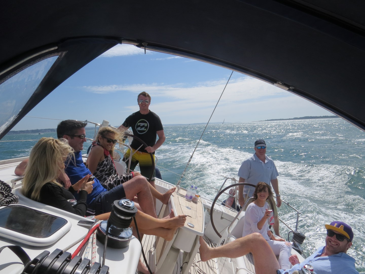 corporate sailing days with marine events