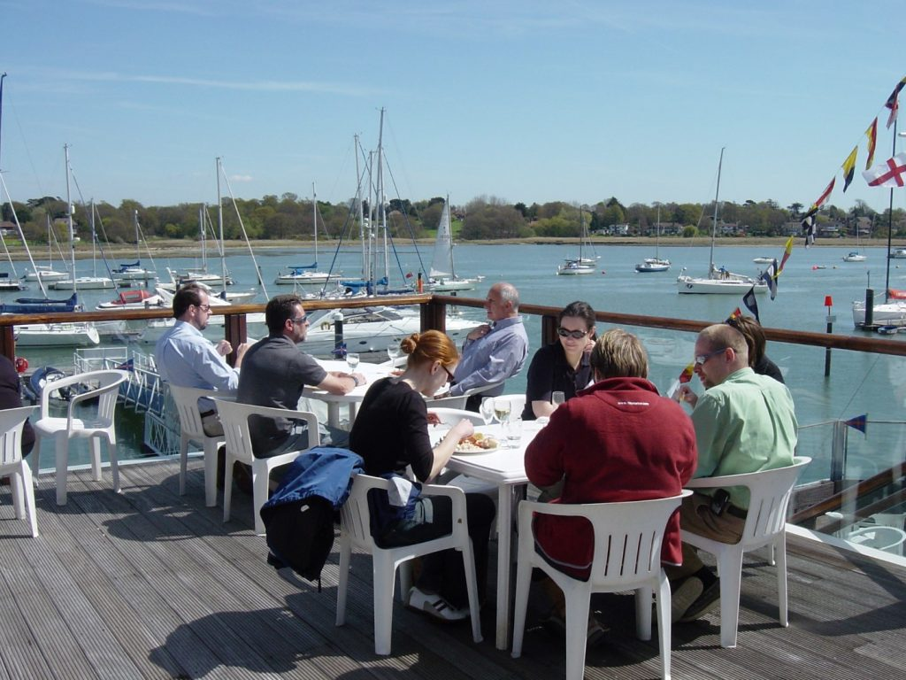 Breakfast at the royal southern yacht club
