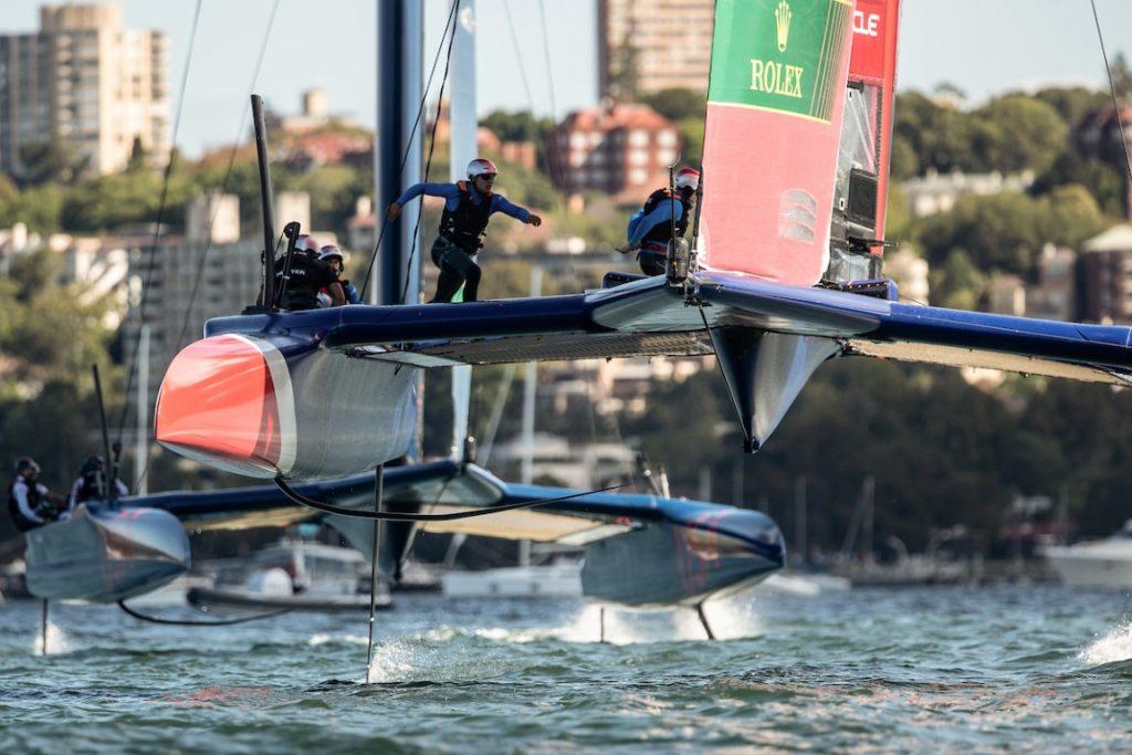 Great Britain SailGP team flying high in Sydney